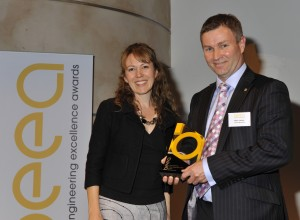 Mark James, Head of UK Operations at Lotus Engineering, collecting the Judges' Special Award