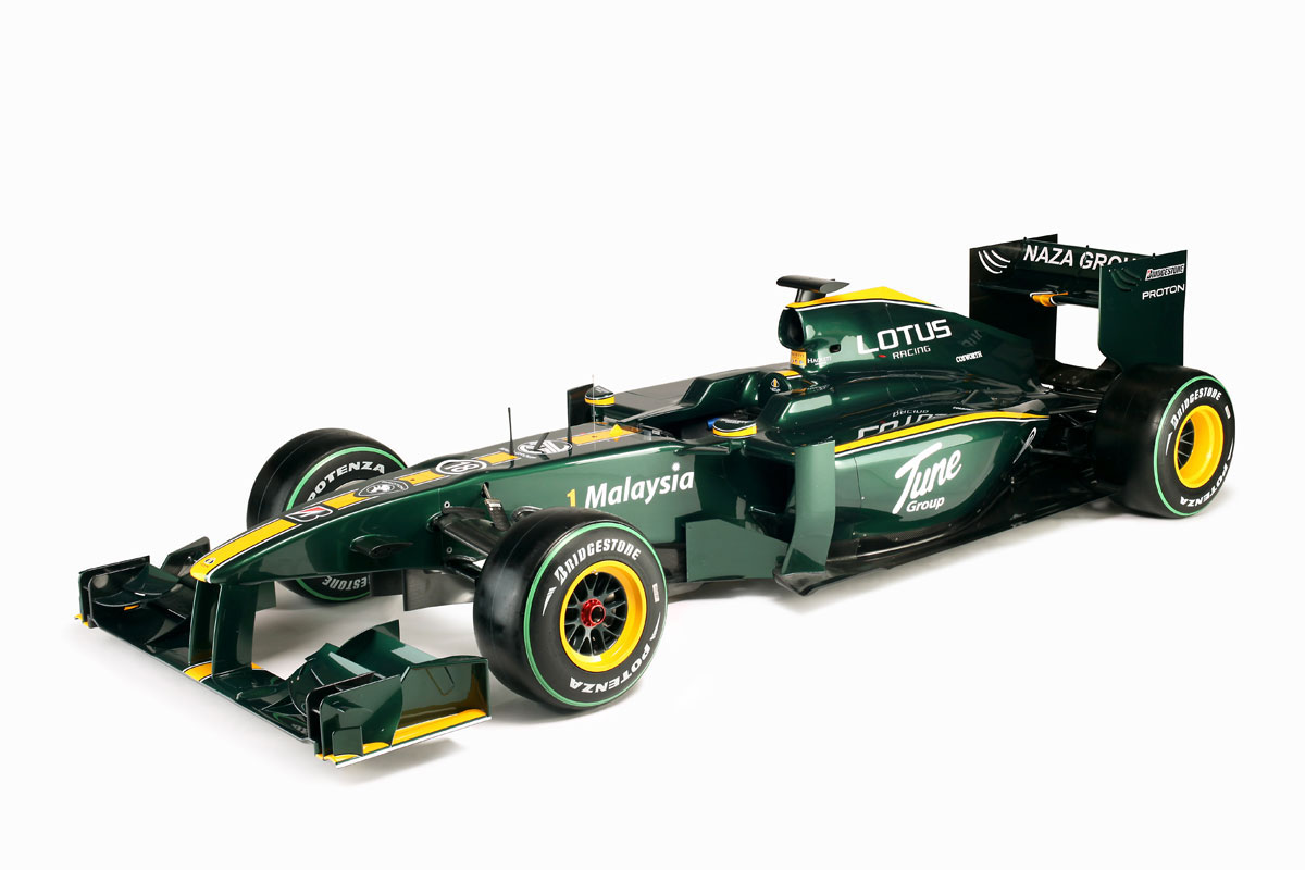 F1: Lotus Launches 2010 F1 Challenger