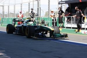 2010 australian gp practice Lotus