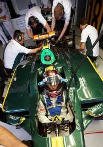 Lotus Racing Australian Grand Prix Qualifying
