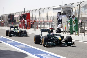 Lotus F1 T127 Bahrain Grand Prix 2010