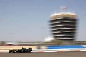 Lotus F1 T127 Bahrain practice