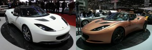 Evora Carbon and 414E Hybrid concepts