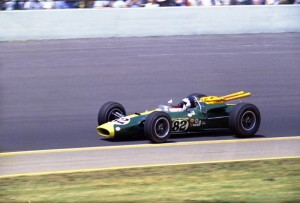 Jim Clark Type 38 at Indy 1965. Photo credit IMS Photo