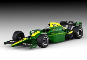 Lotus-Cosworh IndyCar Series 2010 Rendering