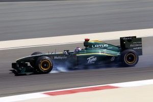 Lotus Racing T127 Bahrain Grand Prix F1 2010 lockup