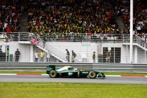 Lotus Racing Malaysian Grand Prix 2010