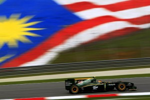 Lotus Racing Friday Practice Malaysian Grand Prix 2010