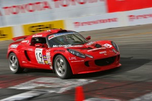 Tyler McQuarrie SCCA World Challenge Lotus Exige S Long Beach