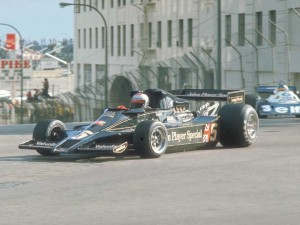 mario andretti lotus-cosworth long beach F1 1977