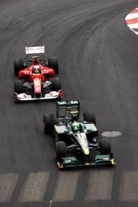 Monaco Grand Prix 2010 Alonso Kovalainene