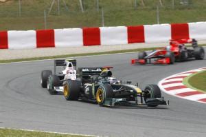 Jarno Trulli Spanish Grand Prix 2010