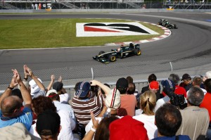Jarno Trulli and Heikki Kovalainen 2010 Canadian Grand Prix practice