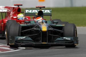 Jarno Trulli 2010 Canadian Grand Prix
