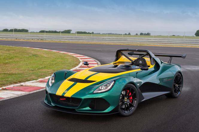 Lotus 311 front