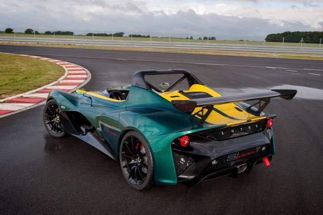 Lotus 311 rear