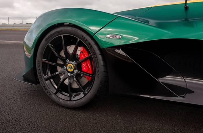 Lotus 311 wheel