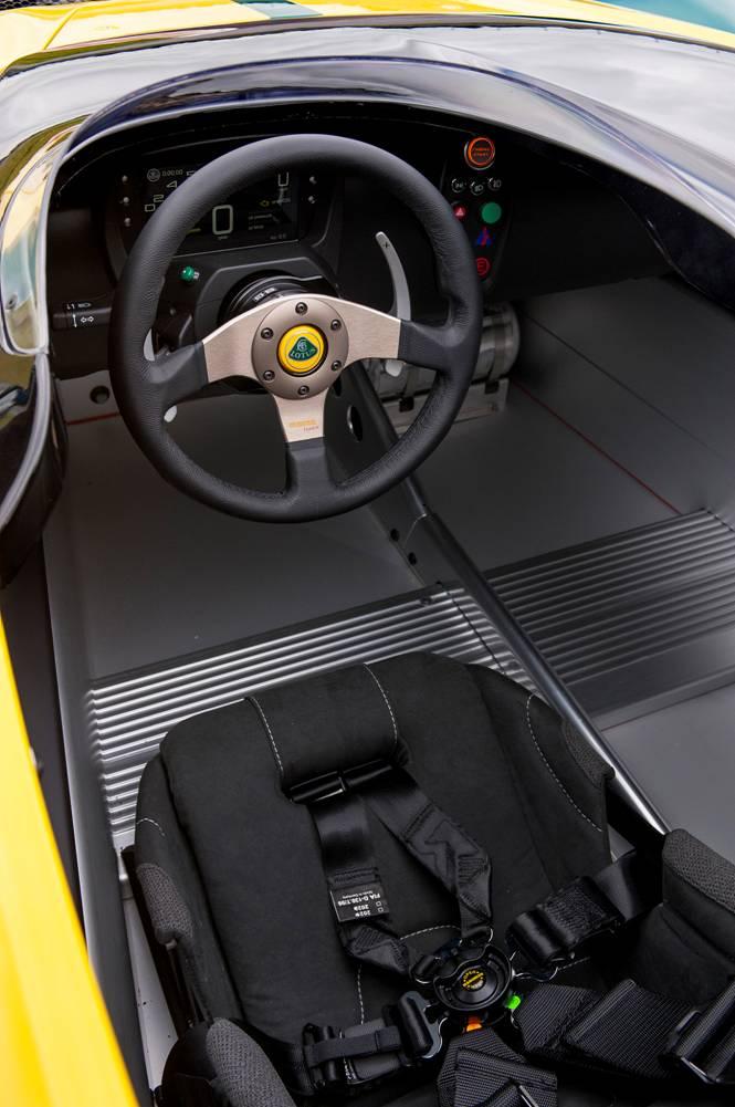 Lotus 311 Interior