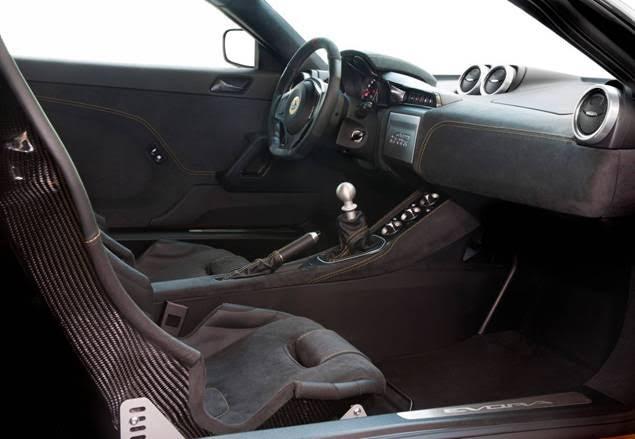 evora 410 interior